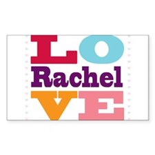 I Love Rachel Decal