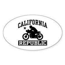 California Cafe Racer Decal