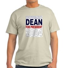 Howard Dean Ash Grey T-Shirt