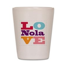 I Love Nola Shot Glass