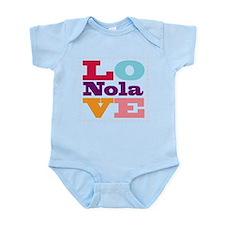 I Love Nola Onesie
