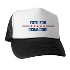 Vote for GERALDINE Trucker Hat