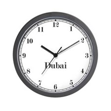 Dubai Classic Newsroom Wall Clock