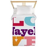 I Love Nayeli Twin Duvet