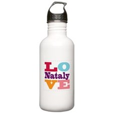 I Love Nataly Water Bottle