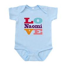 I Love Naomi Infant Bodysuit
