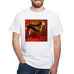 Deerhound Cassell 1881 Digita White T-Shirt