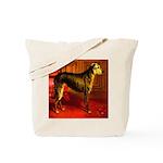 Deerhound Cassell 1881 Digita Tote Bag