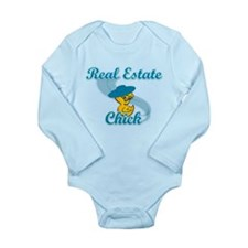 Real Estate Chick #3 Long Sleeve Infant Bodysuit