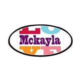 I Love Mckayla Patches