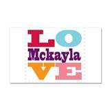 I Love Mckayla Car Magnet 20 x 12