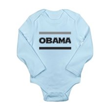 OBAMA: Long Sleeve Infant Bodysuit