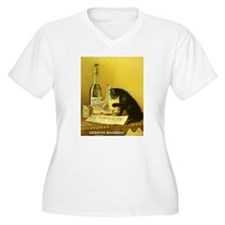 Absinthe Bourgeois Plus Size T-Shirt