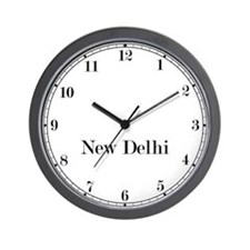 New Delhi Classic Newsroom Wall Clock