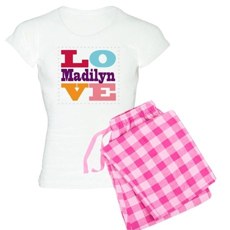 I Love Madilyn Women's Light Pajamas