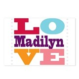 I Love Madilyn Postcards (Package of 8)