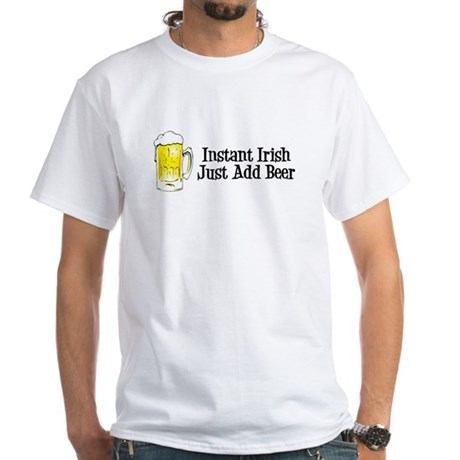 Instant Irish White T-Shirt