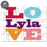 I Love Lyla Puzzle