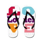 I Love Lorelei Flip Flops
