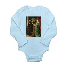 Jan van Eyck Marriage Long Sleeve Infant Bodysuit