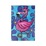 Refridgerator Magnet from ATC Pink Flamingo