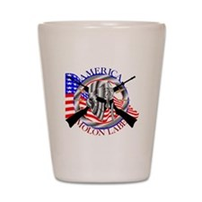 Molon Labe America 2nd Amendment Shot Glass