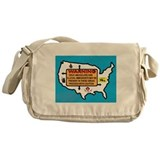 THEY'RE EVERYWHERE Messenger Bag