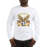 Uganda Football Design Long Sleeve T-Shirt