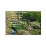 Graduation Emerson Quote Fridge Magnet