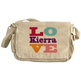 I Love Kierra Messenger Bag