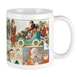 Victorian Old World Santas Coffee Mug