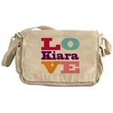 I Love Kiara Messenger Bag