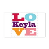 I Love Keyla Car Magnet 20 x 12
