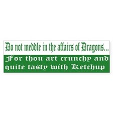 Dragon Bumper Bumper Sticker