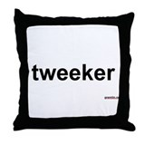 tweeker Throw Pillow