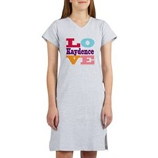 I Love Kaydence Women's Nightshirt