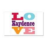 I Love Kaydence Car Magnet 20 x 12