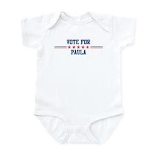 Vote for PAULA Infant Bodysuit