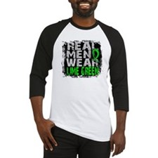 Real Men NH Lymphoma Baseball Jersey