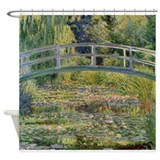 Japanese Bridge Giverny Shower Curtain