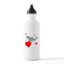 Valentine Dolphin Water Bottle