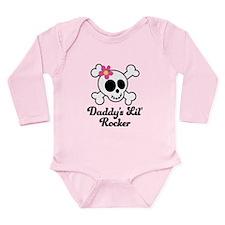 Daddy's Lil Rocker Long Sleeve Infant Bodysuit