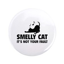 """Smelly Cat 3.5"""" Button"""