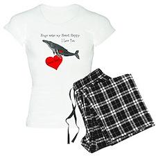 Personalized Whale Pajamas