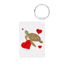 Personalized Turtle Keychains