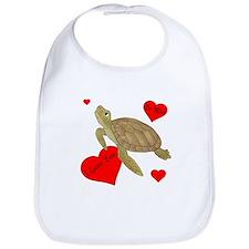 Personalized Turtle Bib