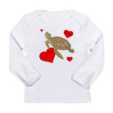 Personalized Turtle Long Sleeve Infant T-Shirt