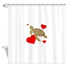 Personalized Turtle Shower Curtain