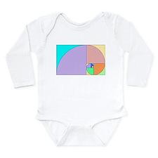 Golden Ratio Long Sleeve Infant Bodysuit