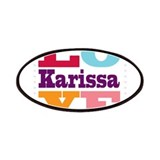 I Love Karissa Patches